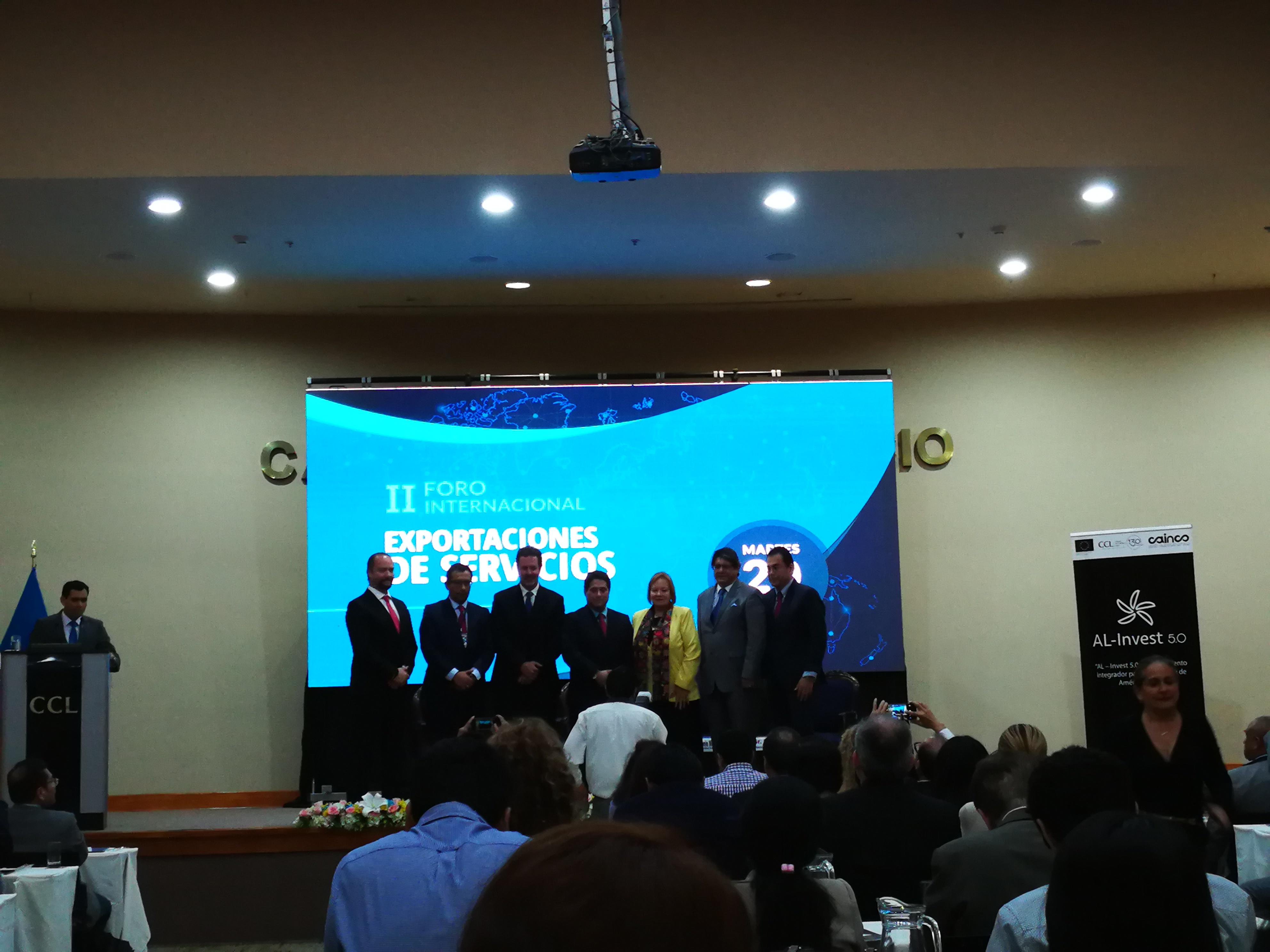 Evento en la Camara de Comercio de Lima